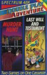 Double Play Adventure #10: Murder Hunt and Last Will and Testament (Double Play Adventure) (ZX Spectrum)