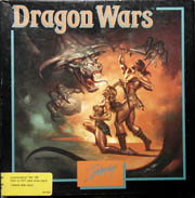 Dragon Wars (Interplay) (C64) (Contains Alternate Reference Cards, Clue Book)