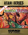 Dungeon of Despair: Dungeons of Despair, Alaskan Wilderness, Taken Alive (Keypunch Software) (Atari 400/800)