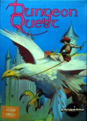 Dungeon Quest (Boxed) (Gainstar) (Amiga) (UK Version)