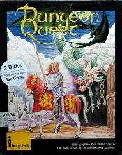 Dungeon Quest (Boxed) (Image Tech) (Amiga) (US Version)