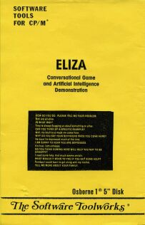 Eliza (Software Toolworks) (CP/M) (missing disk)