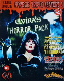 Elvira's Horror Pack: Elvira, Elvira II: The Jaws of Cerberus, Waxworks (Adventuresoft) (IBM PC)