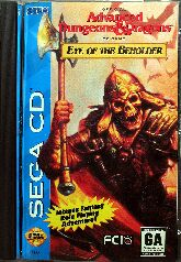 Eye of the Beholder (Pony Canyon) (Sega CD)