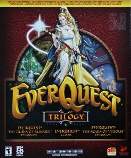 EverQuest Trilogy: EverQuest Classic, EverQuest: The Ruins of Kunark Expansion, EverQuest: The Scars of Velious Expansion (Verant Interactive) (IBM PC)
