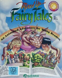 Mixed-Up Fairy Tales (IBM PC) (missing crayons)