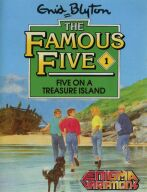 Famous Five, The #1: Five on a Treasure Island (Enigma Variations) (ZX Spectrum) (Cassette Version)