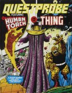 Questprobe: Human Torch and the Thing (U.S. Gold) (C64) (Cassette Version)