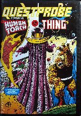 Questprobe: Human Torch and the Thing (U.S. Gold) (C64) (Disk Version)