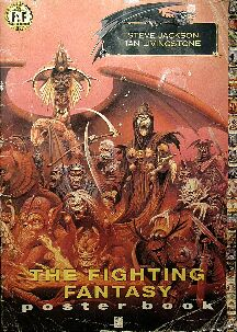 Fighting Fantasy Poster Book