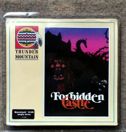 Forbidden Castle (Thunder Mountain) (Macintosh)