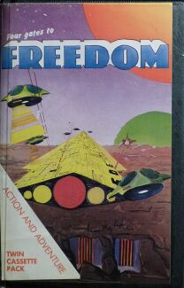 Four Gates to Freedom (large case) (Phoenix Software) (Vic-20)