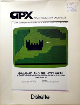 Galahad and the Holy Grail (Atari Program Exchange) (Atari 400/800) (Contains Earlier Release)