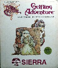 Gelfling Adventure (Clamshell) (Apple II) (missing compass sticker)