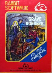 Grave Robbers (Rabbit Software) (C64)