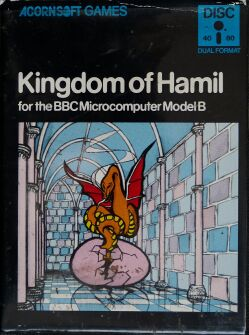 Kingdom of Hamil (BBC Model B) (Disk Version) (missing Hint Sheet)