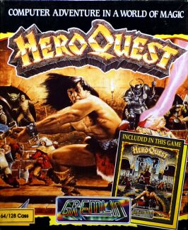 Hero Quest (including Hero Quest: Return of the Witch Lord) (Gremlin) (C64)