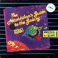 Hitchhiker's Guide to the Galaxy (Mastertronic) (Amiga) (Contains Hint Sheet)