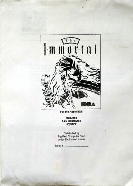 Immortal (Big Red Computer Club) (Apple II GS)