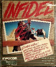 Infidel (IBM PC) (Contains InvisiClues Hint Book, Map, Witts' Notes)