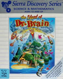 Island of Dr. Brain, The (IBM PC) (missing EncycloAlmanacTionaryOgraphy)