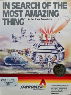 In Search of the Most Amazing Thing (Boxed) (Apple II)