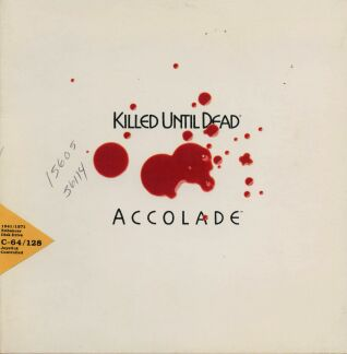 Killed Until Dead (Accolade) (C64)