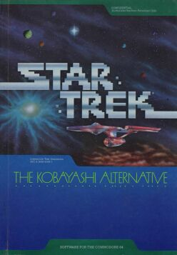 Star Trek: The Kobayashi Alternative (Simon & Schuster) (C64)