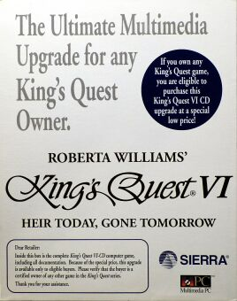 King's Quest VI: Heir Today, Gone Tomorrow (IBM PC) (CD Upgrade Version)