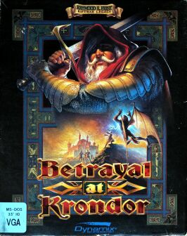 Betrayal at Krondor (Dynamix) (IBM PC) (Disk Version) (Contains Hint Book)