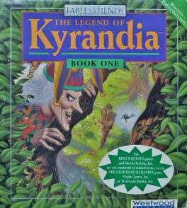Fables & Fiends: The Legend of Kyrandia Book One (Westwood Studios) (IBM PC) (Contains Hint Book, Demo Disk)