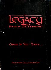 Legacy: Realm of Terror (Radio Shack Collector's Edition) (Microprose) (IBM PC)