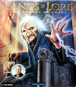 Lands of Lore: The Throne of Chaos (Westwood Studios) (IBM PC) (Contains Clue Book)