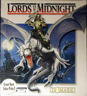 Lords of Midnight III (Domark) (IBM PC) (CD-ROM Version) (Contains Strategy Guide)