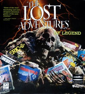 Lost Adventures of Legend, The (Mindscape) (IBM PC)