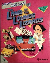 Leisure Suit Larry in the Land of the Lounge Lizards (Atari ST) (Contains T-Shirt)