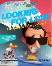 Leisure Suit Larry II: Looking for Love (In Several Wrong Places) (Atari ST) (Contains Hint Book)