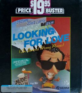 Leisure Suit Larry II: Looking for Love (In Several Wrong Places) (Sega OziSoft) (IBM PC) (Australian Version)
