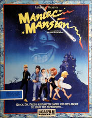Maniac Mansion (Alternate Packaging) (Atari ST)