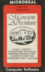 Mansion Adventure 1 (Microdeal) (Dragon32)