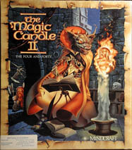Magic Candle II (IBM PC) (Contains Clue Book)
