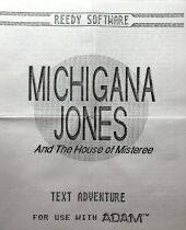Michigana Jones and the House of Misteree