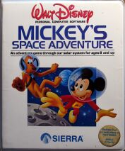 Mickey's Space Adventure (Clamshell) (Apple II)
