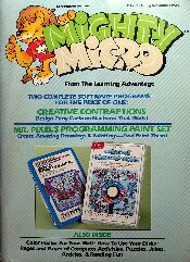 Mighty Micro (Creative Contraptions and Mr. Pixel's Programming Paint Set) (Learning Advantage) (Apple II)