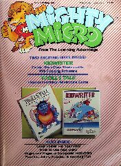 Mighty Micro (Troll's Tale and KidWriter) (Learning Advantage) (Apple II)