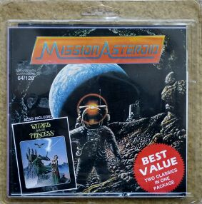 Mission: Asteroid and Wizard and the Princess (Impulse Software) (C64)