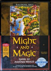 Might and Magic II: Gates to Another World (Electronic Arts) (Sega Genesis)