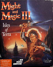 Might and Magic III: Isles of Terra (Amiga) (Contains Official Completion Certificate, Clue Book)