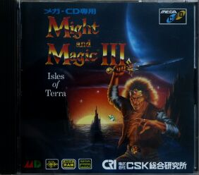 Might and Magic III: Isles of Terra (CSK Research Institute) (Sega CD)