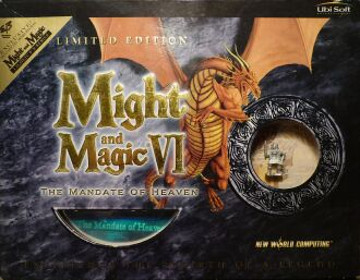 Might and Magic VI Limited Edition: The Mandate of Heaven (Ubi Soft) (IBM PC) (UK Version)